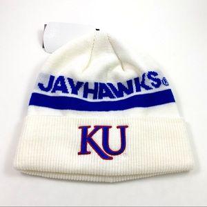 Adidas NCAA Kansas Jayhawks Coach Knit Cap Beanie